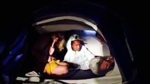 Sadie and Teens Rap in Tent (Wild Horses)