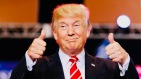 Trump reviews Fake News