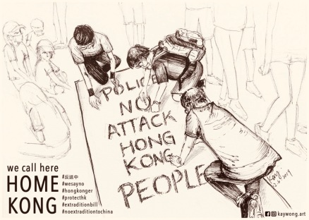 Kay Wong Protest Art