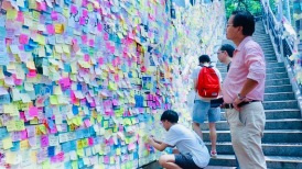 Lennon Wall #HK Protests