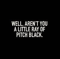 Black Humor. Not Everybody Gets It