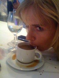 messy drinker