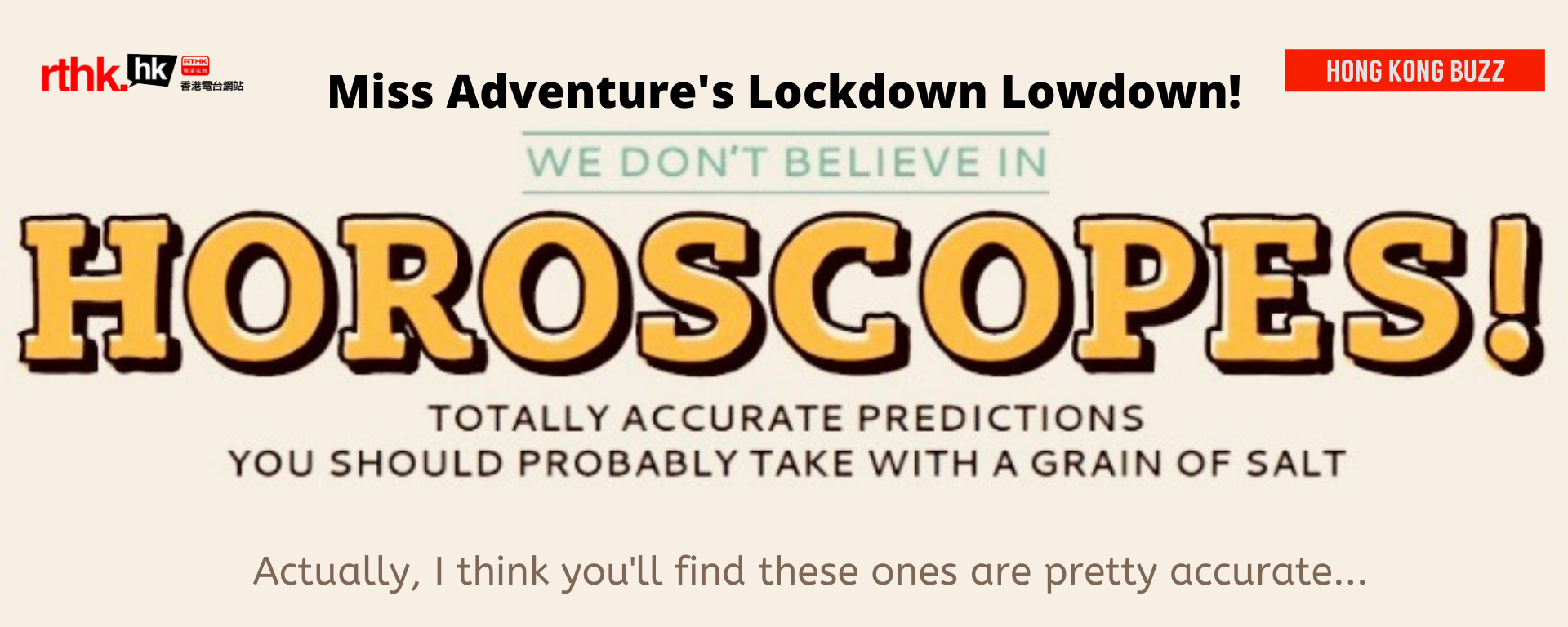 Lockdown Lowdown